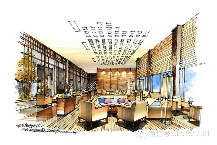 室内设计快题设计-室内设计快题-银火网-室内设计培训